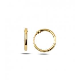 eJOYA 13 mm Halka Altın Küpe 80686