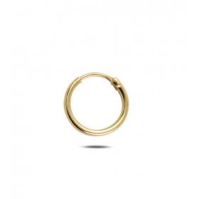 eJOYA Erkek 13 mm Halka Altın Küpe 80695