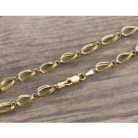 14 Ayar Altın Bileklik Zinciri ZN0027