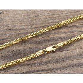 14 Ayar Altın Bileklik Zinciri ZN0030