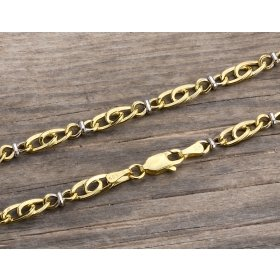 14 Ayar Altın Bileklik Zinciri ZN0033