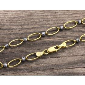 14 Ayar Altın Bileklik Zinciri ZN0045