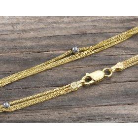 14 Ayar Altın Bileklik Zinciri ZN0048