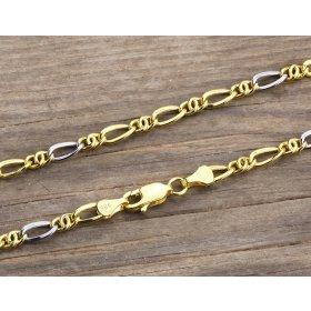 14 Ayar Altın Erkek Bileklik Zinciri ZN0025