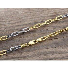 14 Ayar Altın Erkek Bileklik Zinciri ZN0041