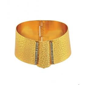 eJOYA 22 Ayar Altın Kaplama Bijuteri Pullu Bilezik