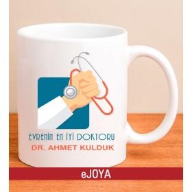Kişiye Özel Mesajlı Doktor Kupa Bardağı 79951