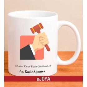 Kişiye Özel Mesajlı Avukat Kupa Bardağı 79952