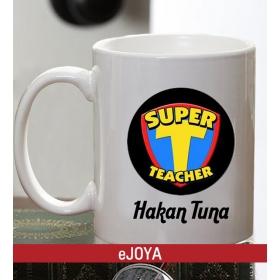 Kişiye Özel Super Teacher Kupa hf3114