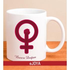 Kişiye Özel Kadının Gücü Temalı Kupa hf8586