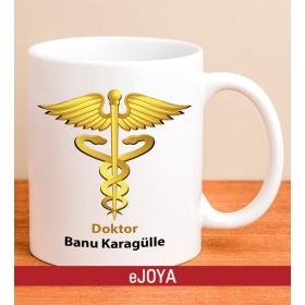 Kişiye Özel Tıp Sembollü Kupa Bardak hf10472