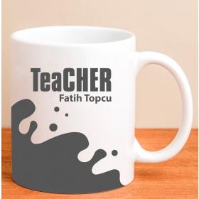 Kişiye Özel Teacher Kupa Bardak hf7085 80156