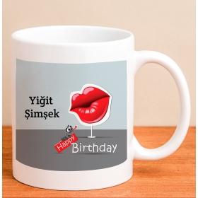 Kişiye Özel Espirili Doğum Günü Kupası hf4196 80172