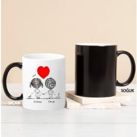 Kişiye Özel Sevgililer Sihirli Kupası hf5051 80214