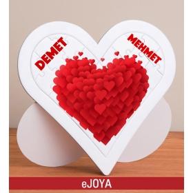 Kişiye Özel Love Kalp Puzzle hf7910