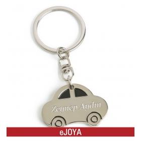 Kişiye Özel Metal Araba Temalı Anahtarlık hf10181