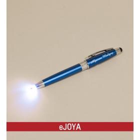 Kişiye Özel Işıklı Touch Tükenmez Kalem Mavi hf8688