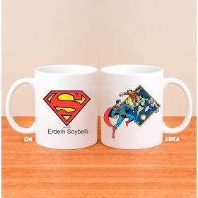 Kişiye Özel Lisanslı Superman Logolu Kupa hf3918 80820
