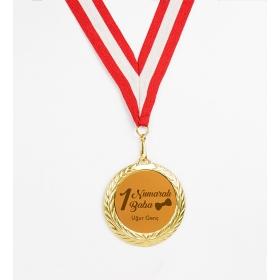 eJOYA Kişiye Özel 1 Numaralı Baba Altın Madalyon hf10730 81002