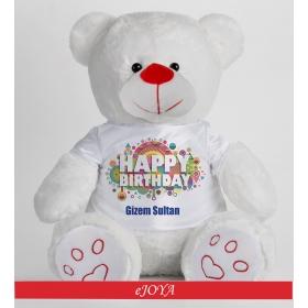 eJOYA Kişiye Özel Happy Birthday Ayıcık 50cm 81872