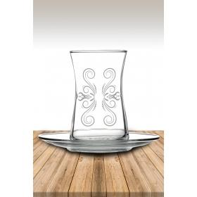eJOYA Desenli Çay Bardağı 82156