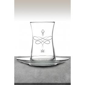 eJOYA Lale Desenli Çay Bardağı 82166