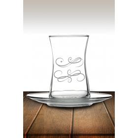 eJOYA Desenli Çay Bardağı 82167