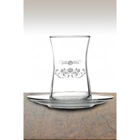 eJOYA Desenli Çay Bardağı 82168