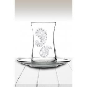 eJOYA Desenli Çay Bardağı 82176