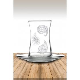 eJOYA Desenli Çay Bardağı 82177