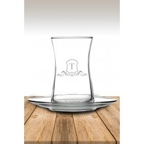 eJOYA T Harf Temalı Çay Bardağı 82193