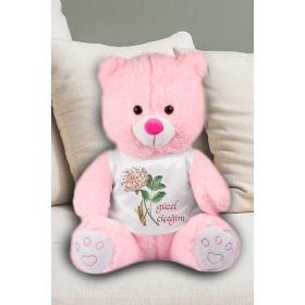 eJOYA Güzel Çiçeğim Temalı Peluş Ayıcık 50 cm 82220