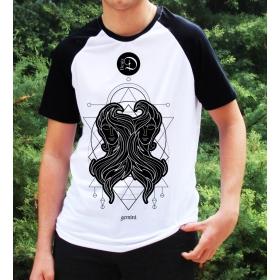 eJOYA Kişiye Özel İkizler Burcu Erkek Tshirt 82520