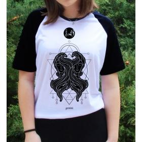eJOYA Kişiye Özel İkizler Burcu Bayan Tshirt 82564