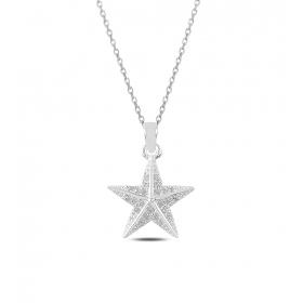 eJOYA Deniz Yıldızı Gümüş Kolye 82593