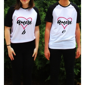 eJOYA Kişiye Özel Çift Kadın Tshirt Erkek Tshirt 82610