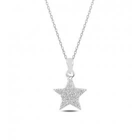 eJOYA Yıldızım Gümüş Kolye 82633
