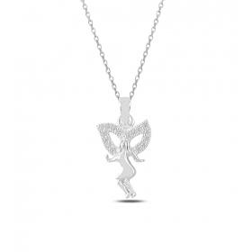 eJOYA Kanatlı Sevgilim Gümüş Kolye 82637