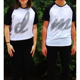eJOYA Kişiye Özel Çift Kadın Tshirt Erkek Tshirt 82640