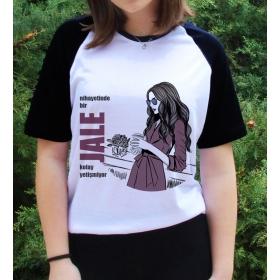 eJOYA Kişiye Özel Kolay Yetişmiyor Bayan Tshirt 82651