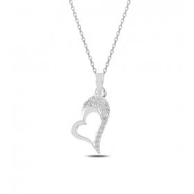 eJOYA Kalbim Senin Gümüş Kolye 82674