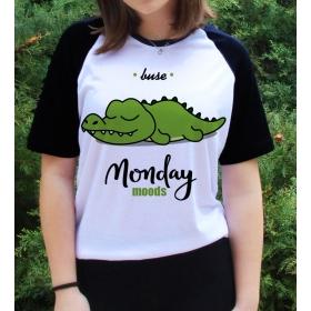 eJOYA Kişiye Özel Monday Moods Bayan Tshirt 82679