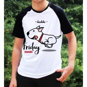 eJOYA Kişiye Özel Friday Moods Erkek Tshirt 82680
