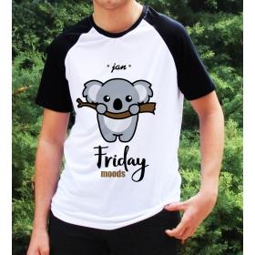 eJOYA Kişiye Özel Friday Moods Erkek Tshirt 82682