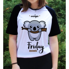 eJOYA Kişiye Özel Friday Moods Bayan Tshirt 82683