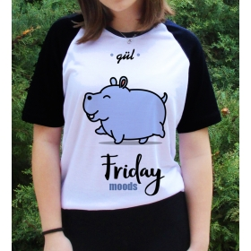 eJOYA Kişiye Özel Friday Moods Bayan Tshirt 82687