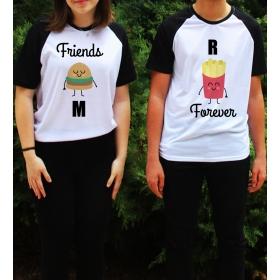 eJOYA Kişiye Özel Çift Kadın Tshirt Erkek Tshirt 82701