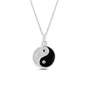 eJOYA Yin Yang Gümüş Kolye 82726