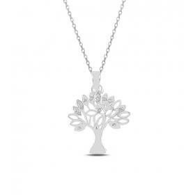 eJOYA Hayat Ağacı Gümüş Kolye 82732