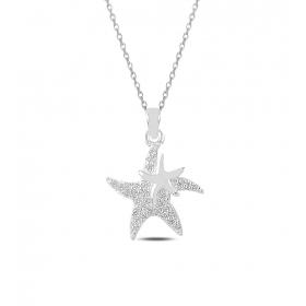 eJOYA Deniz Yıldızı Gümüş Kolye 82794